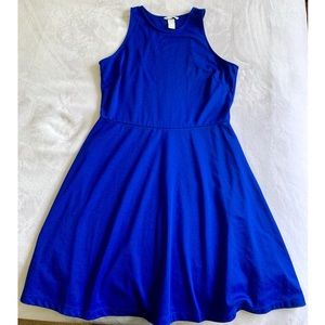 H&M flowy royal blue dress! 💙